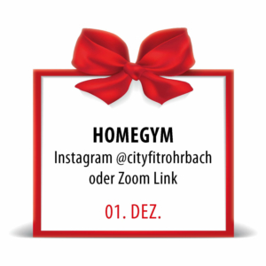 City Fit Adventkalender 1. Dezember