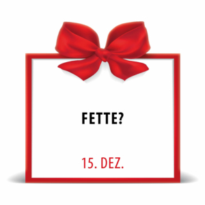 City Fit Adventskalender 15. Dezember