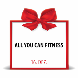 City Fit Adventskalender 16. Dezember