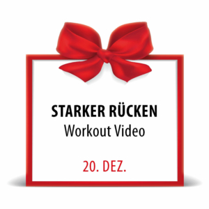 City Fit Adventskalender 20. Dezember