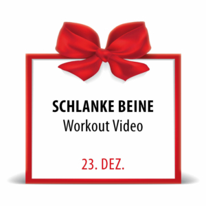 City Fit Adventskalender 23. Dezember